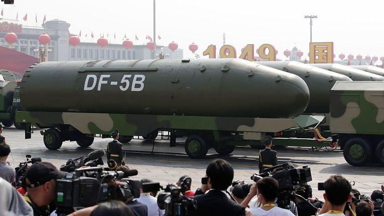 Míssel chinês DF - 5B