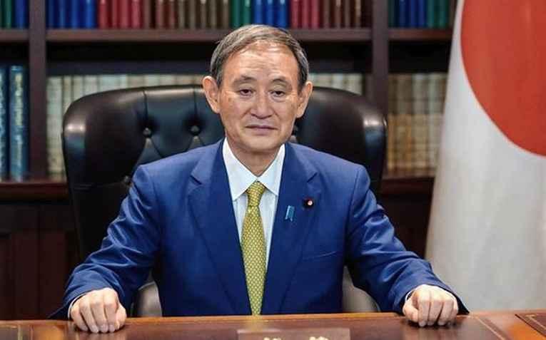 Primeiro-ministro Yoshihide Suga