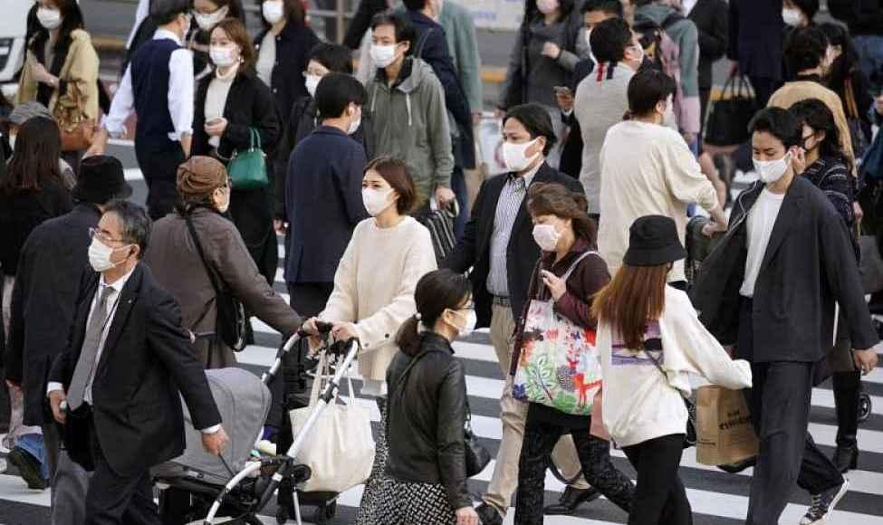 Cruzamento de Shinjuku no Japão
