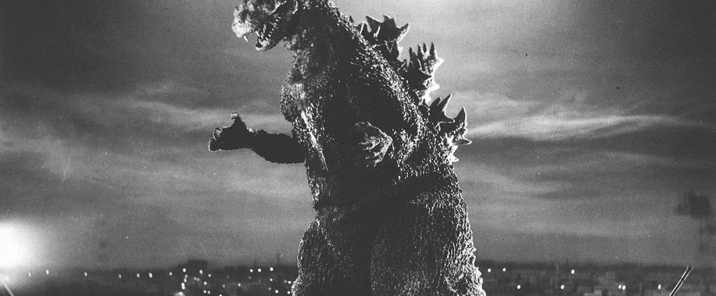 Cena do Godzilla no Japão
