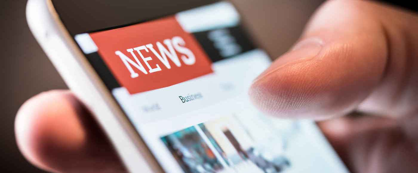 Notícias no celular