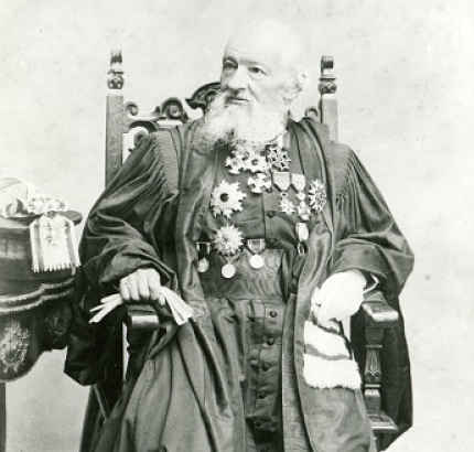 Jurista francês Gustave-Emil Boissonade (1825 - 1910)