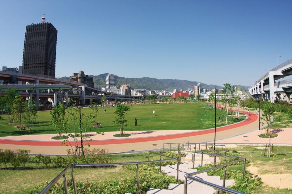 Parque no Japão Minato no Mori