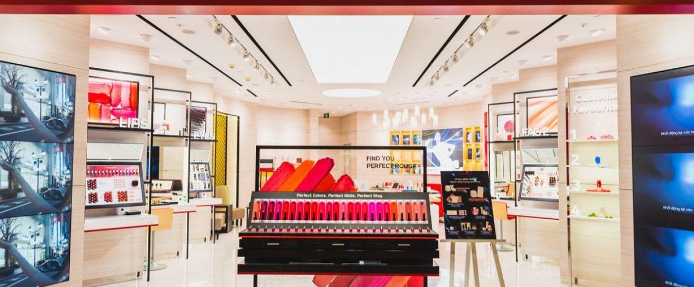 Fachada loja Shiseido