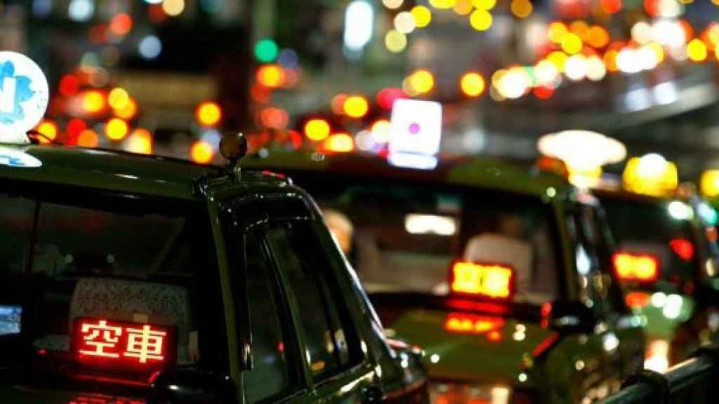 Táxi no Japão