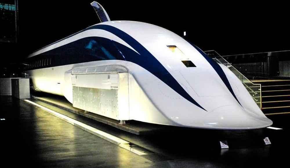 Trem Maglev no Japão
