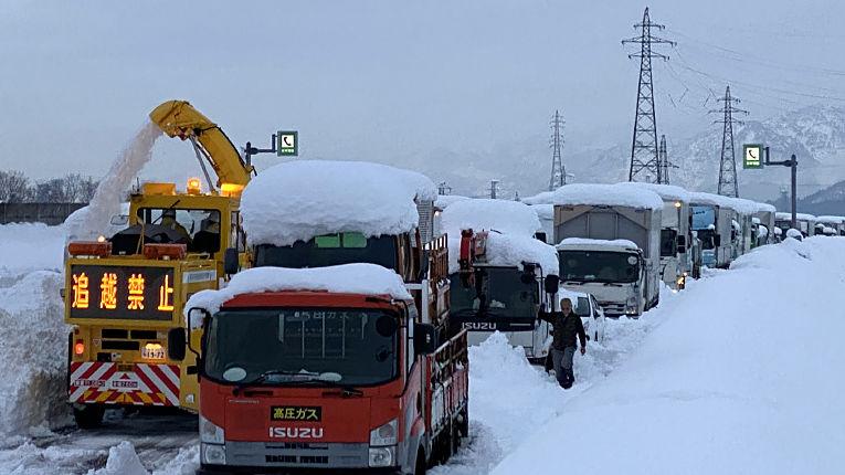 Nevasca Kan-etsu Expressway