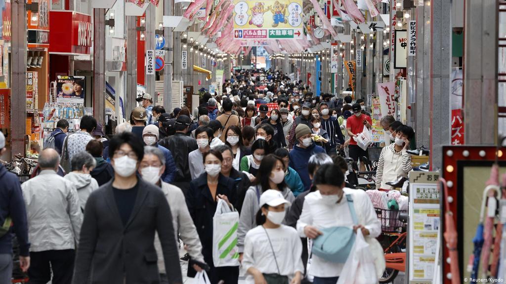 Casos de Covid-19 aumentam no Japão