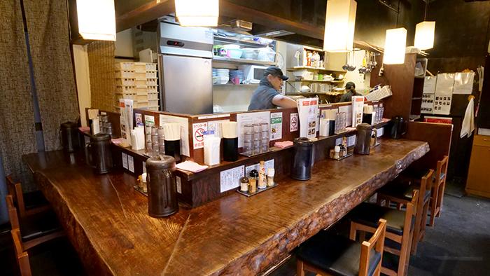Restaurante no Japão