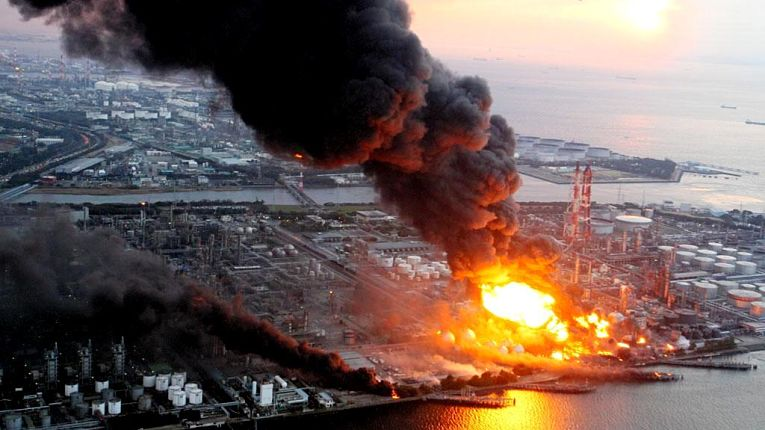 Desastre nuclear de Fukushima em 2011
