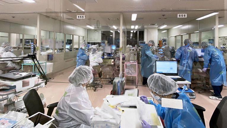 Hospital no Japão em meio a pandemia