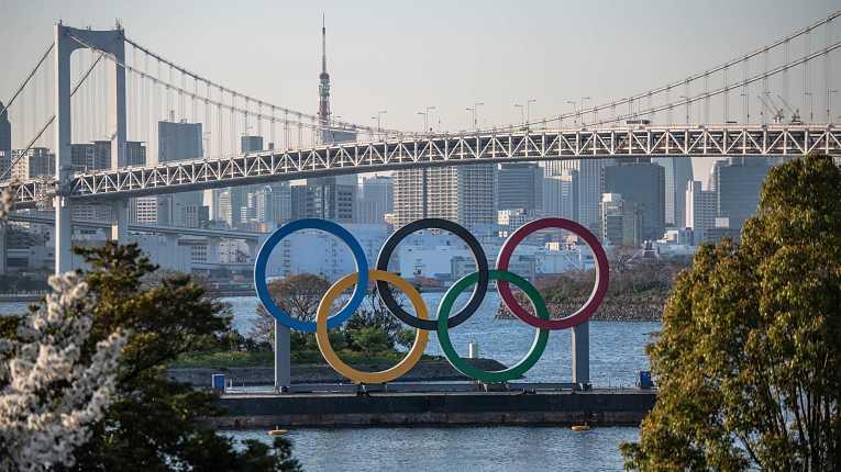 Monumento das Olimpíadas em Odaiba