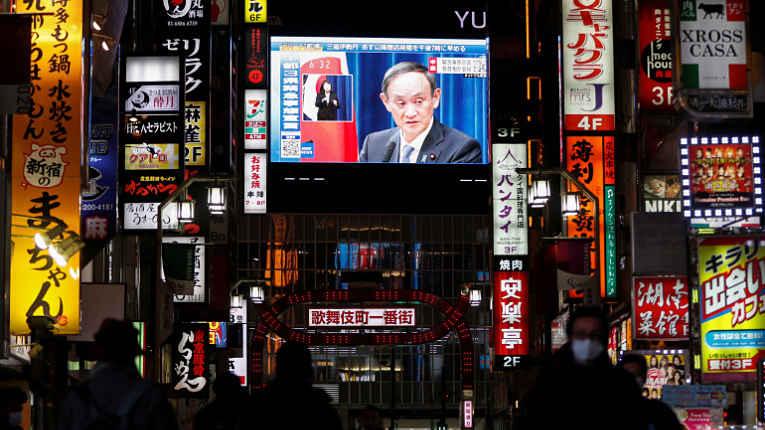Primeiro-ministro Yoshihide Suga declara estado de emergência