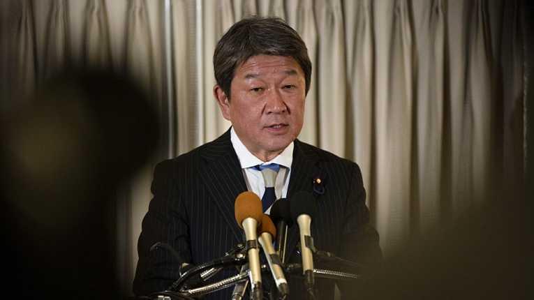 Ministro das Relações Exteriores do Japão Toshimitsu Motegi