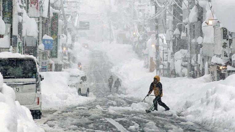 Nevasca Japão