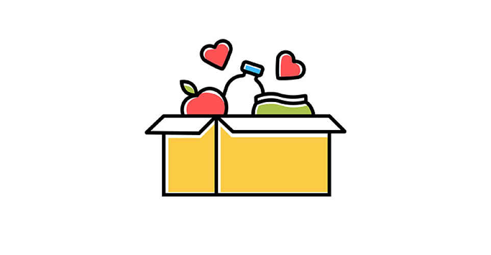 Doação de comida e tradutor de graça para estrangeiros no Japão