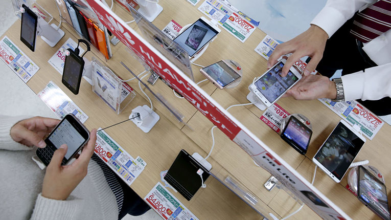 Planos de telefonia e celulares no Japão