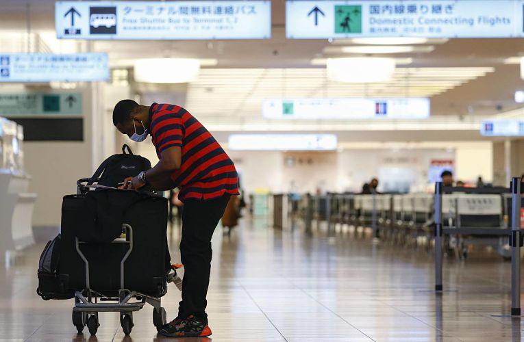 Queda recorde de 87,1% no turismo no Japão
