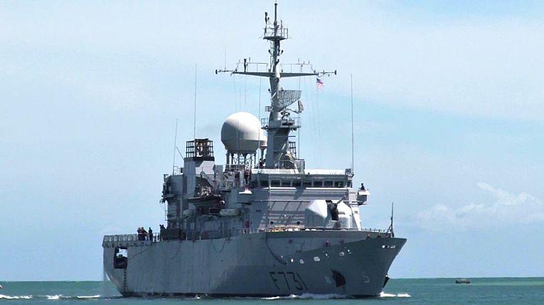 Fragata francesa de vigilância e inteligência Prairial