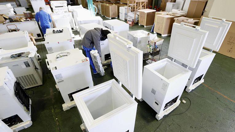 Empresas japonesas aumentaram produção de freezers potentes para armazenar e transportar imunizantes Pfizer-BioNTech a -75°C