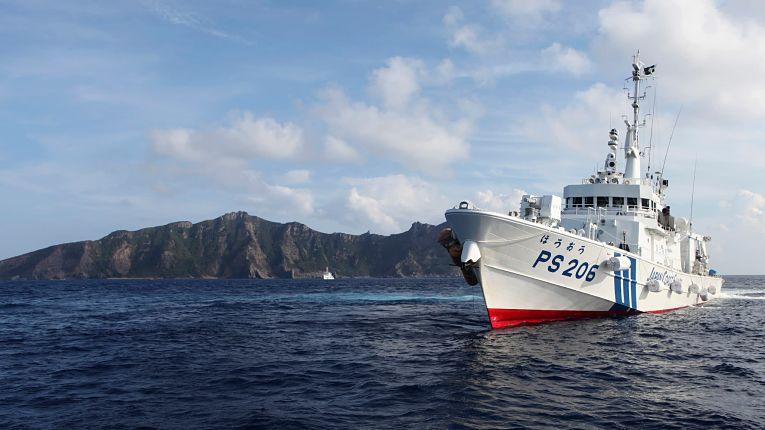 Quarta incursão da guarda costeira chinesa em águas japonesas em 2021