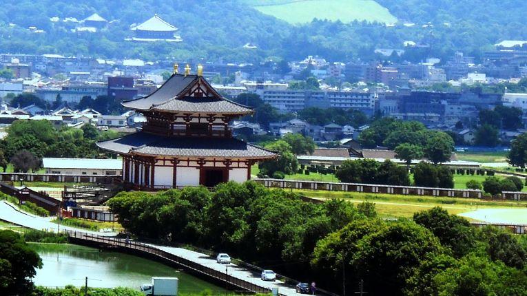 Vista do Palácio Imperial de Nara - Heijō-kyū