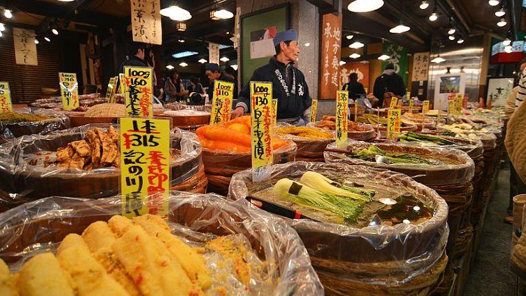 Exportação de alimentos do Japão aumentou 1,1% em 2020