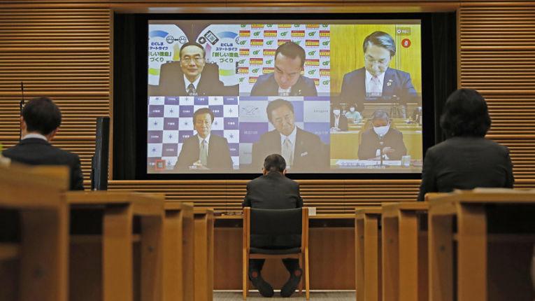Prefeitos e governadores japoneses ainda estão no escuro em relação as informações da imunização do país