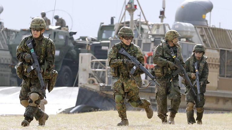 GSDF (Ground Self-Defense Forces) devem aumentar sua presença nas regiões disputadas com a China
