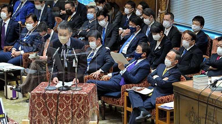 Sessão na Câmara dos Conselheiros