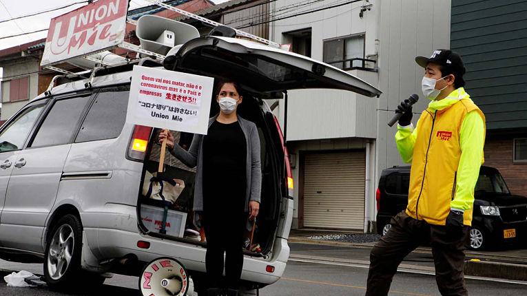 Estrangeiros sentem a recessão gerada pela pandemia no Japão