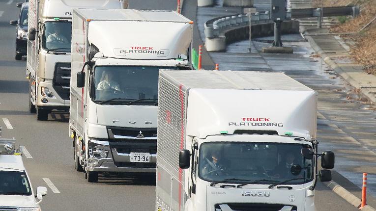 Caminhões autônomos foram testados com sucesso no dia 5 de março de 2020