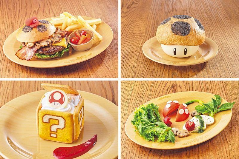 Opções do cardápio do Kinopio's Café