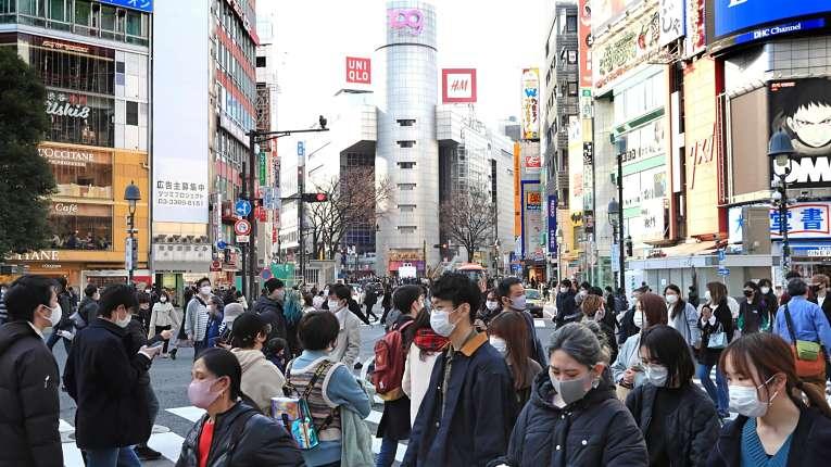 O Japão registrou nas últimas semanas baixo índice de contaminação por COVID-19 por 100 mil habitantes