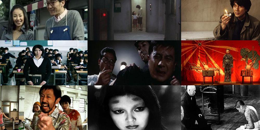 24 filmes de terror japonês