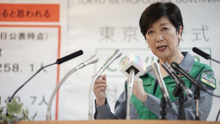 Governadora de Tokyo Yuriko Koike expressou preocupação com o levantamento do estado de emergência que acontecerá no dia 7 de março, domingo