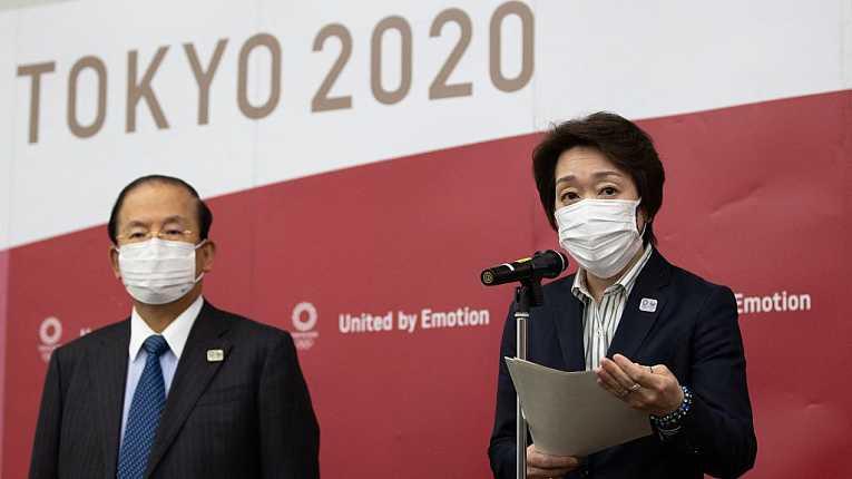 CEO Toshiro Muto e presidente do Comitê Organizador dos Jogos de Tokyo Seiko Hashimoto fizeram uma reunião online com membros do COI para debater diversos pontos ainda em aberto