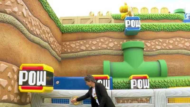 Atração interativa Super Nintendo World