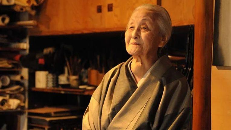 Toko Shionda foi uma das artistas mais importantes do século XX por seu trabalho abstrato com tinta sumi