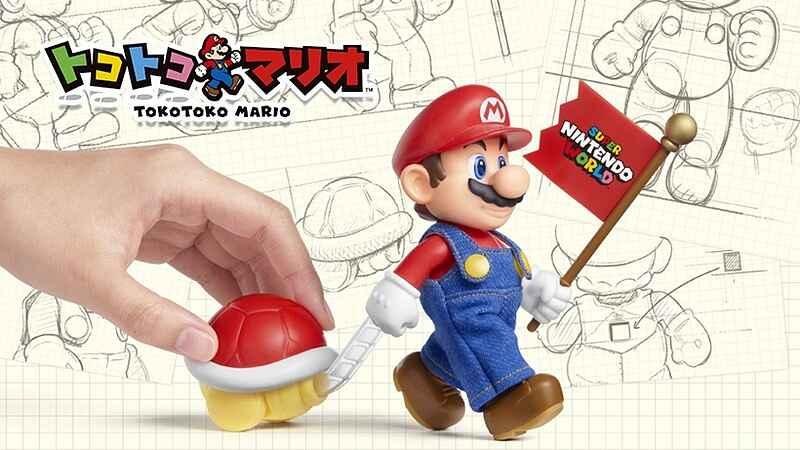 Tokotoko - Boneco do Mario da loja Level Up Factory