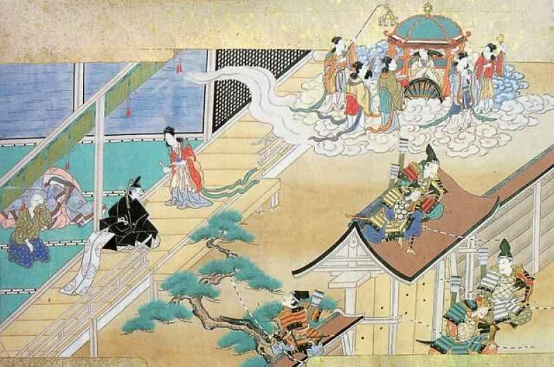 Povo da lua busca Kaguya