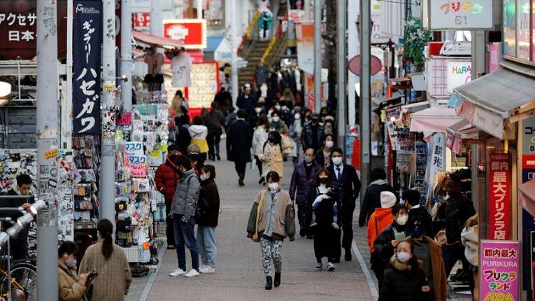 Osaka registrou 666 novos casos superando Tokyo em 226 casos