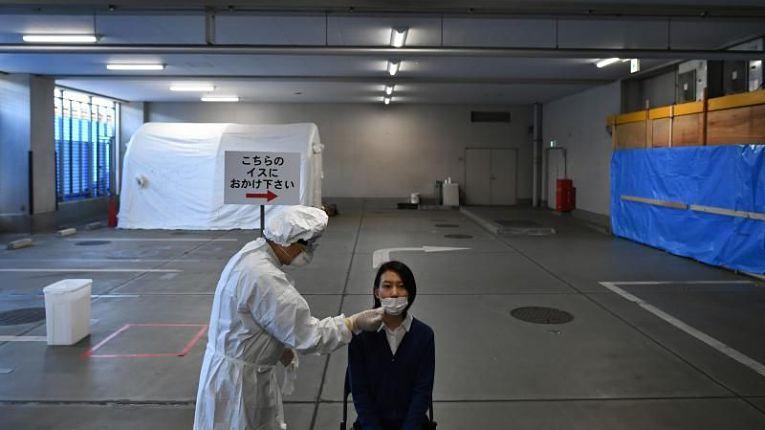 Com 77.966 testes PCR para a detecção do SARS-CoV-2 em todo o território nacional, o Japão confirmou 4.802 novos casos de coronavírus e 41 óbitos nas últimas 24 horas