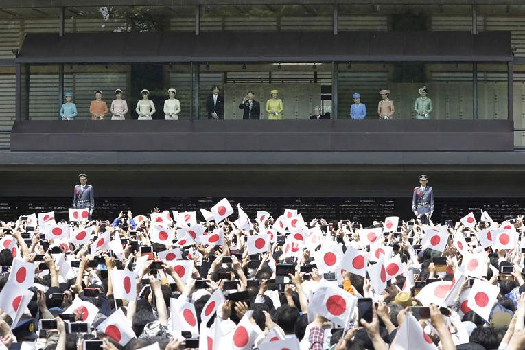 População japonesa saúda a ascensão do novo casal Imperial Naruhito e Masako