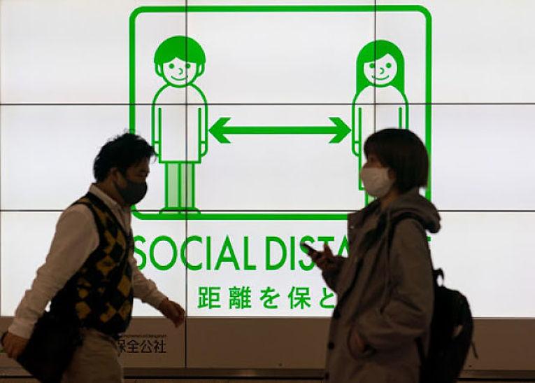O Japão voltou a registrar mais de 100 óbitos em 24 horas nessa terça-feira (25) aumentando a preocupação das autoridades do país