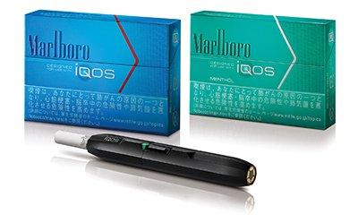 Aparelho HNB da Philip Morris no Japão