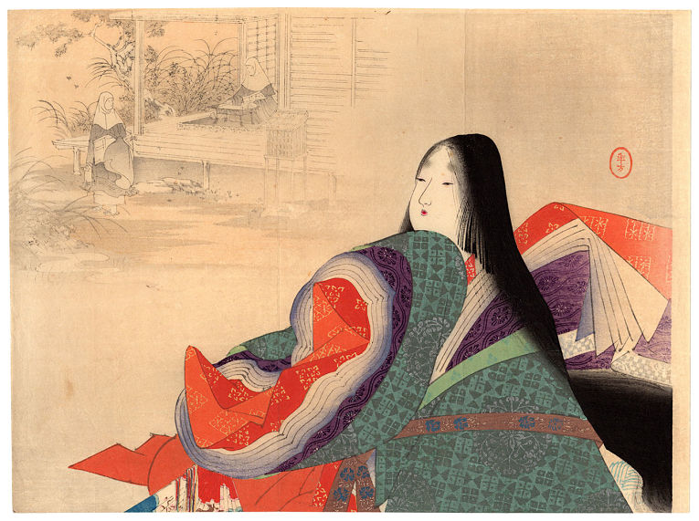 Imperatriz Taira no Tokuko, esposa do Imperador Takakura, foi Imperatriz Consorte entre 1172 e 1182