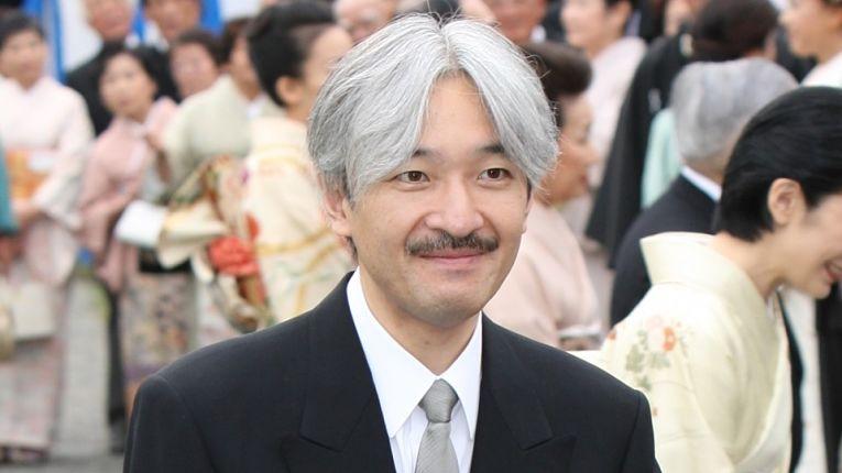 Com 55 anos, o Príncipe herdeiro Fumihito é o primeiro na linha de sucessão do atual Imperador Naruhito