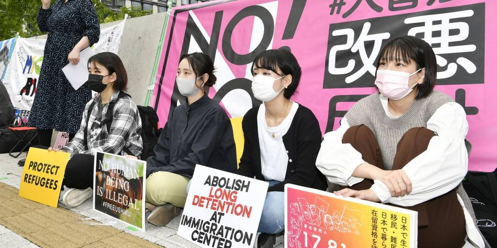 Japoneses protestam contra proposta de alteração de lei de imigração no Japão