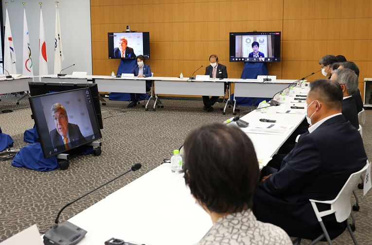 Reunião entre Comitê Organizacional dos Jogos Olímpicos e o Comitê Olímpico Internacional debatem sobre os desafios da realização dos jogos